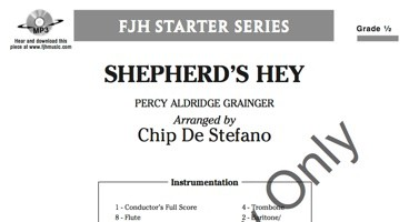 Shepherd's Hey Cover