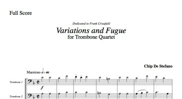 Variations and Fugue image